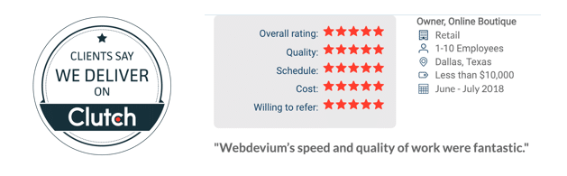 webdevium reviews